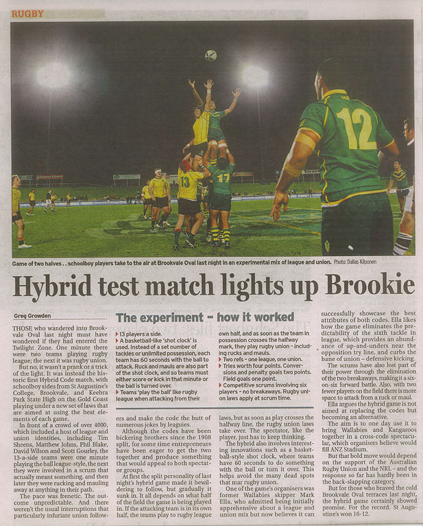 Hybrid-test-match-lights-up